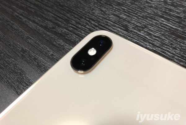 iPhone XS Max カメラ