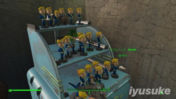 Fallout 4 ボブルヘッド