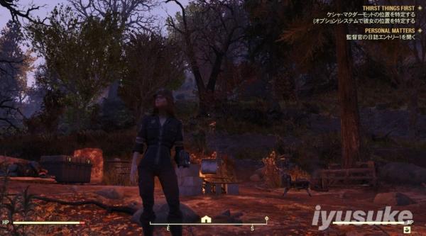 Fallout 76 監督官のC.A.M.P