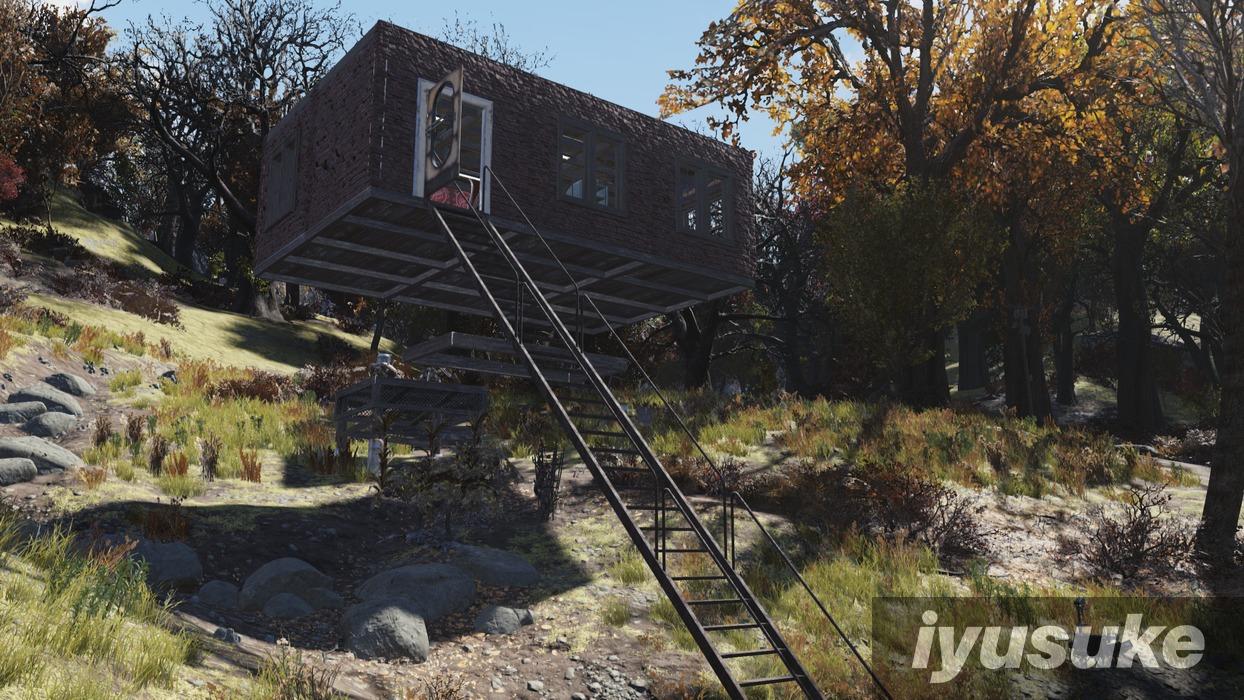 Fallout 76 拠点 建築