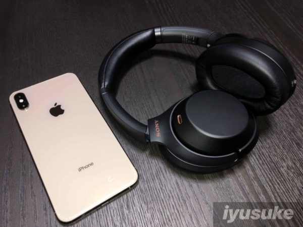 wh 1000xm3 iPhone XS Max