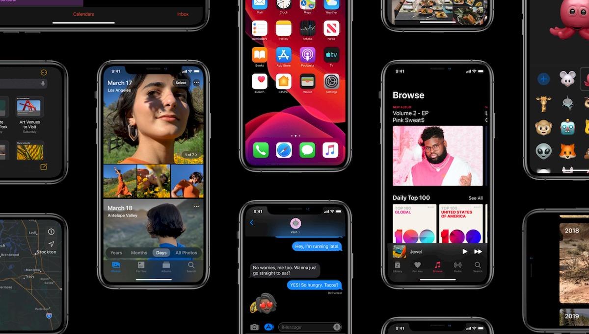 iOS 13 プレビュー