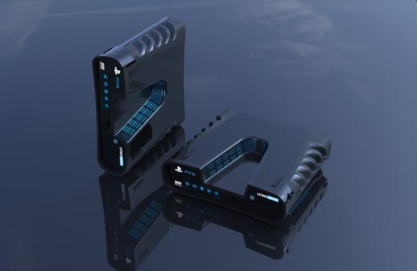 PS5 特許デザインのレンダリング