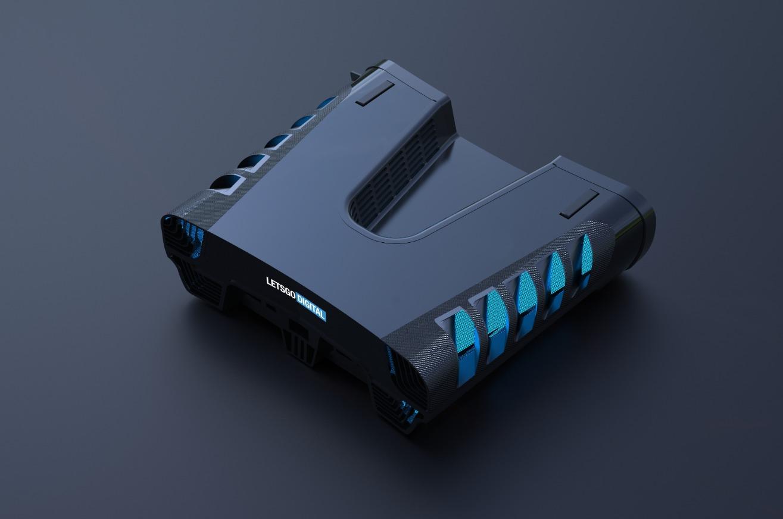 PS5 V型デザイン