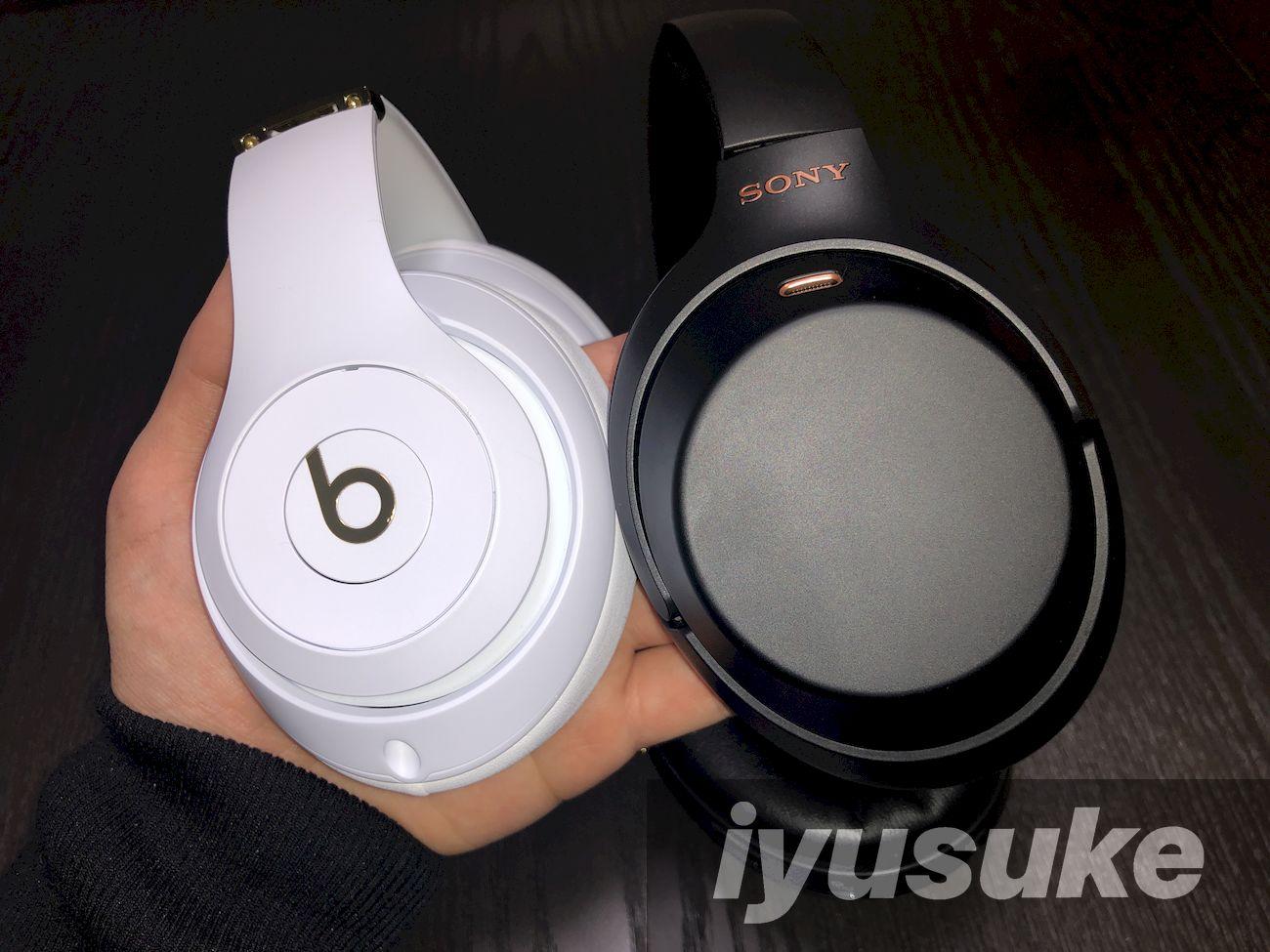 beats Studio3 WirelessとWH-1000XM3 操作