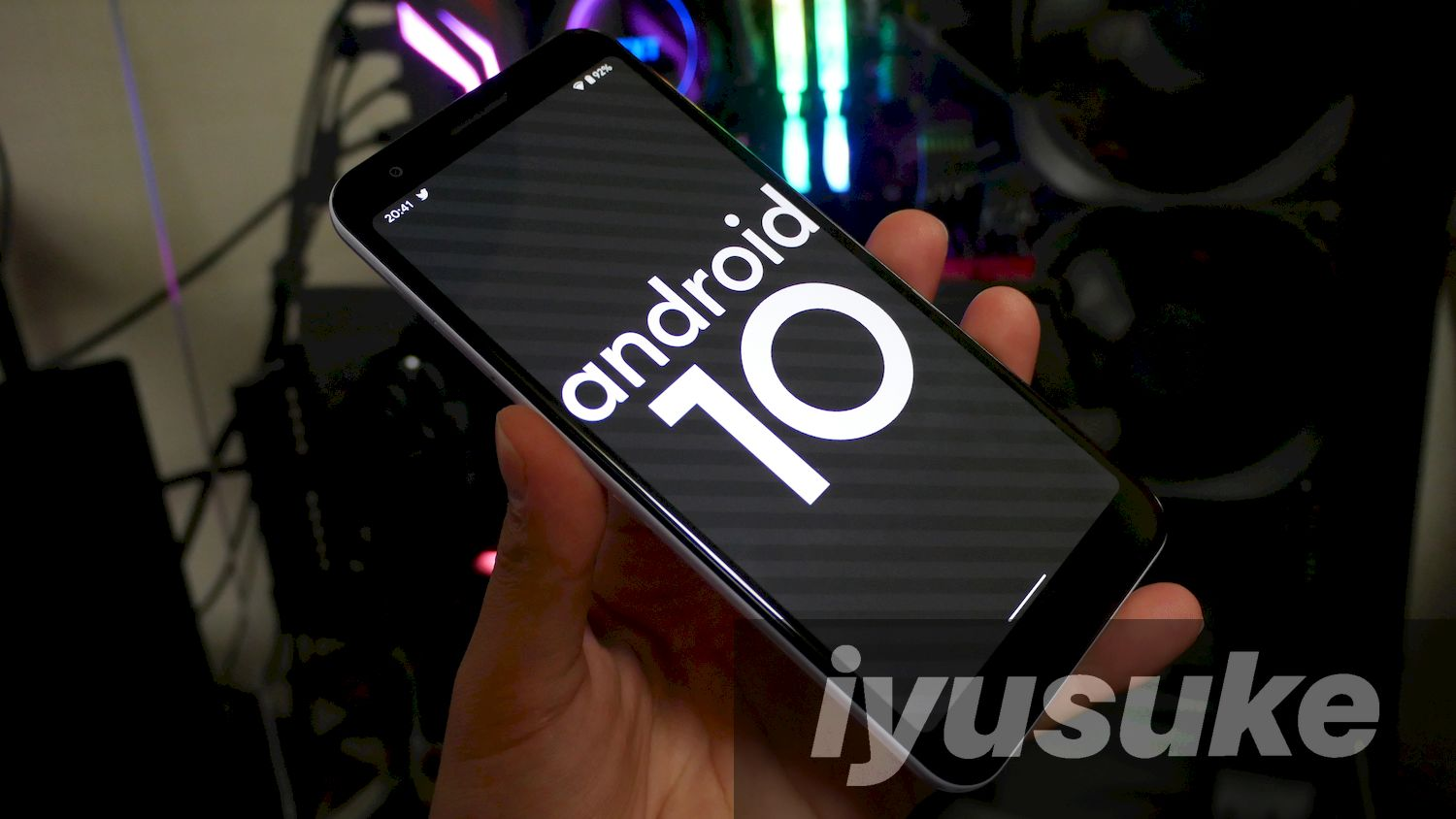 Android 10 Pixel 3a