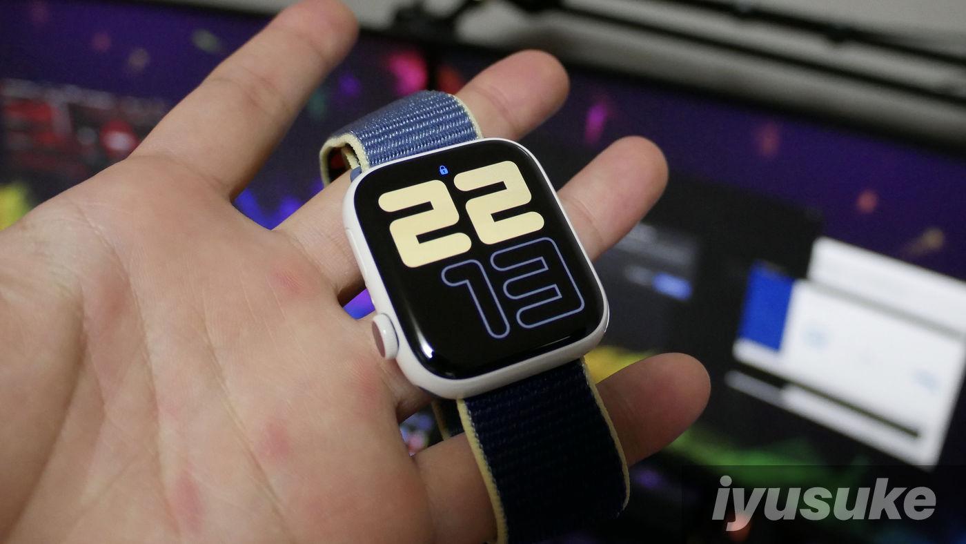 Apple Watch Edition ホワイトセラミック ハンズオン