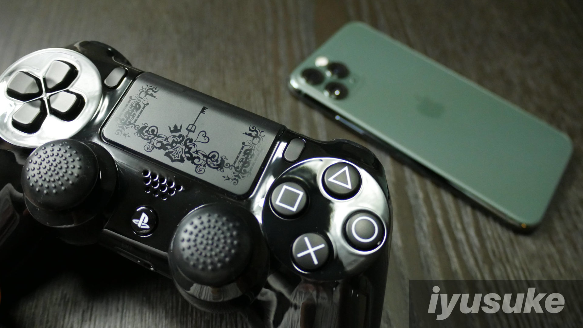 iOS13 PS4 コントローラー