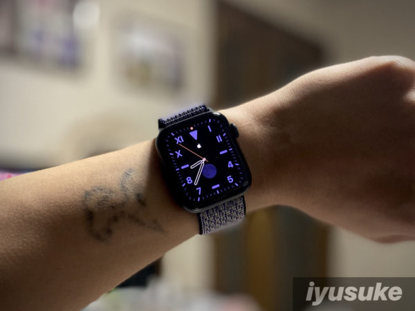 Apple Watch モノグラム 設定