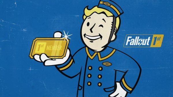 Fallout 76 サブスク Fallout 76 1st