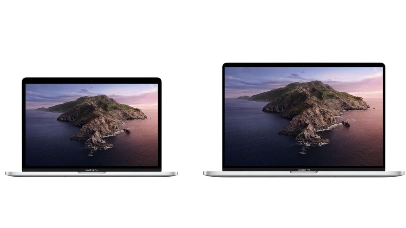 Macbook Pro 13インチ 16インチ 比較