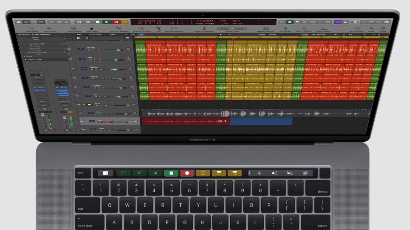 Macbook Pro 16インチ キーボード