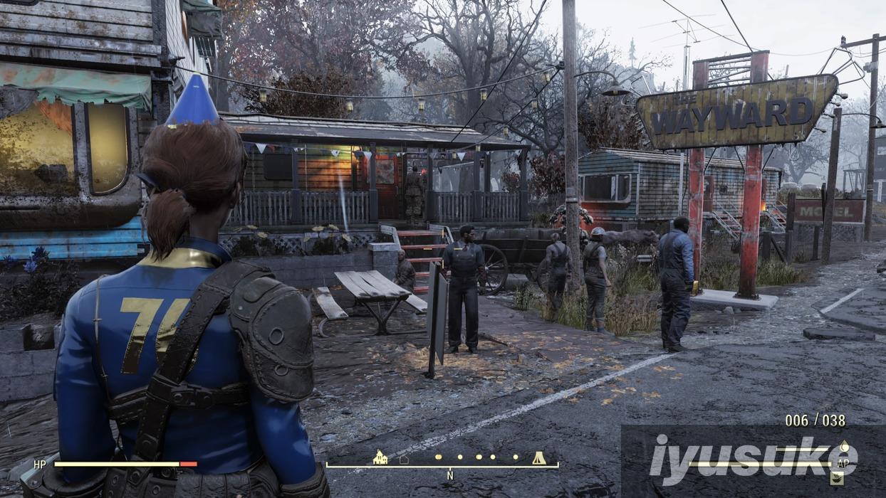 Fallout 76 ウェイストランダーズ