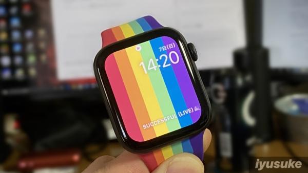Apple Watch Series 5 プライドエディションバンド