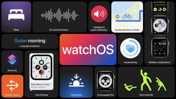 watchOS 7 WWDC2020