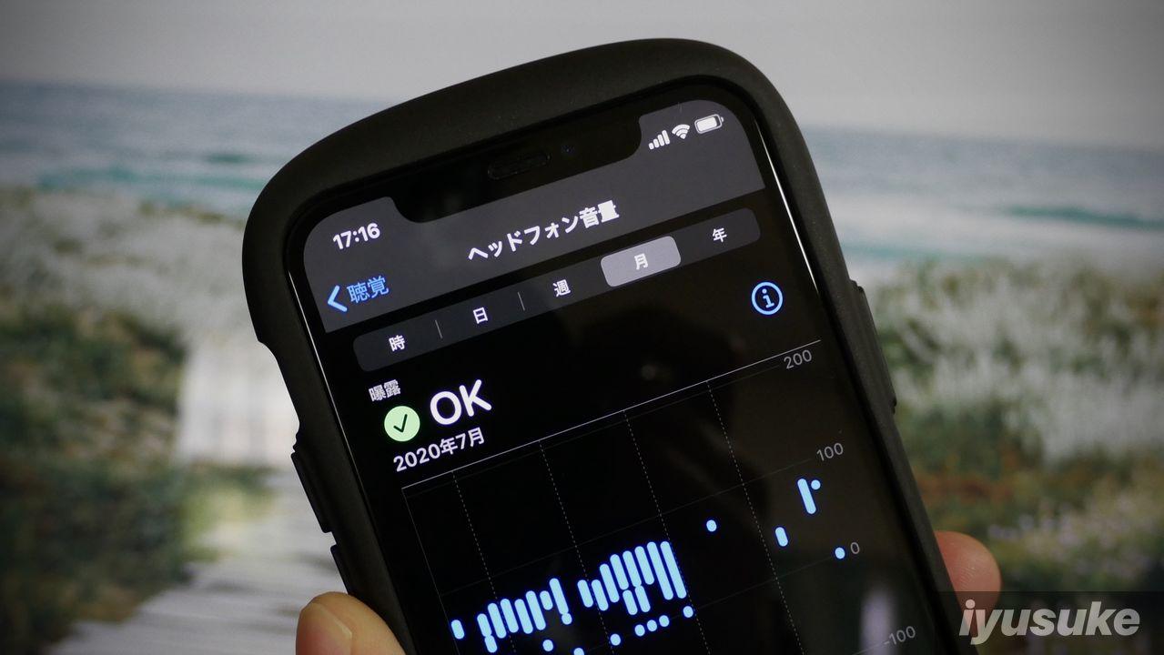 iPhone 聴覚 ヘルスケア