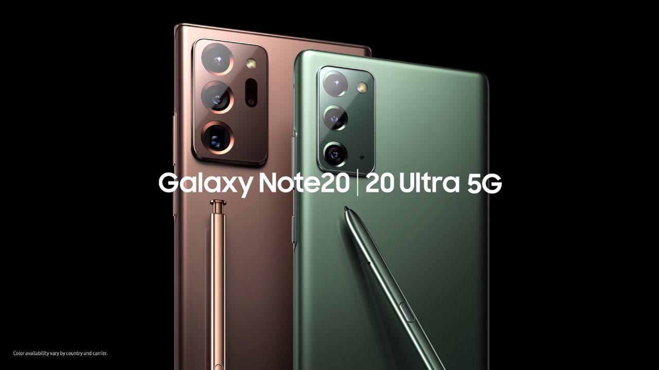 Galaxy Note20 Galaxy Note20 Ultra