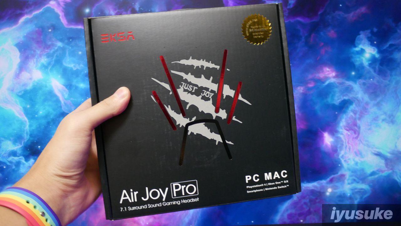 Air Joy Pro レビュー
