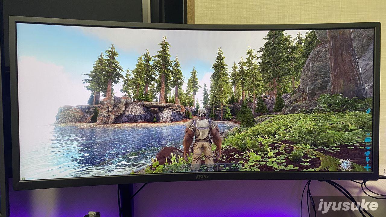 Ark Survival Evolved MSI Optix MAG341CQ
