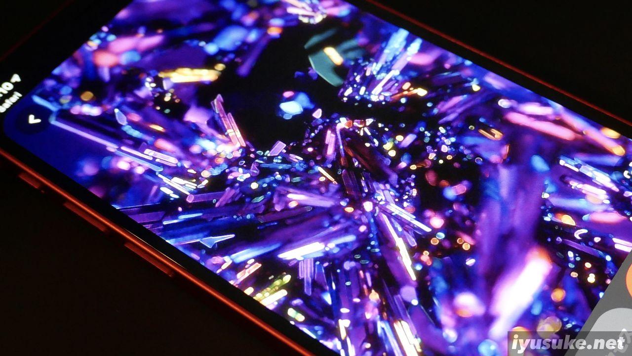 iPhone 12 mini 有機ELディスプレイ
