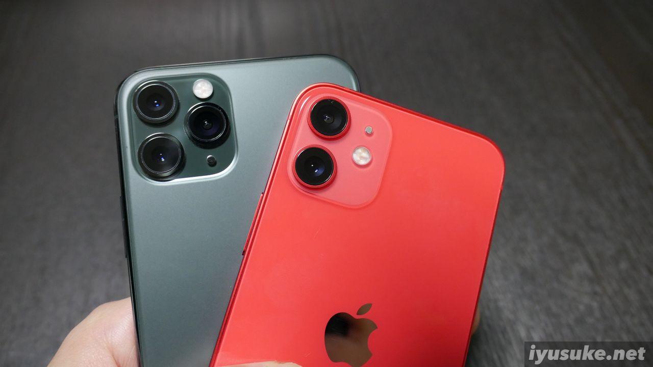 iPhone 11 ProとiPhone 12 mini
