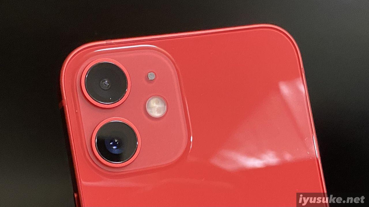 iPhone 12 mini カメラ