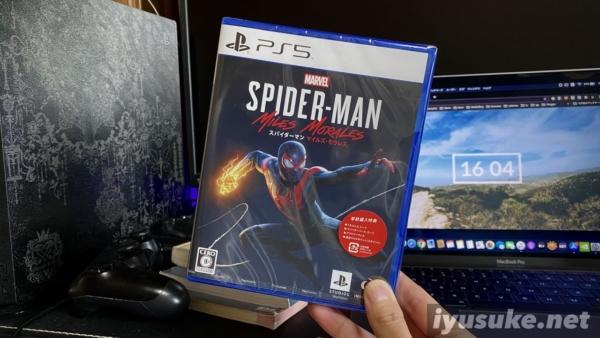 スパイダーマン マイルズモラレス PS5
