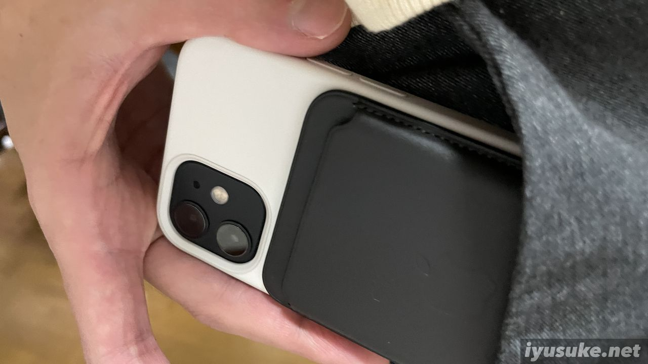 iPhone 12 mini レザーウォレット