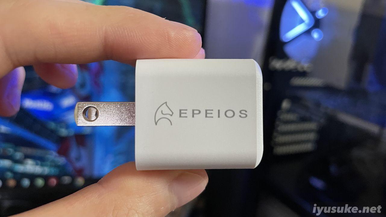EPEIOS(エペイオス) 電源アダプタ 20W PD対応