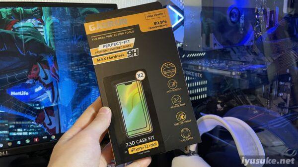 ガウラン iPhone 12シリーズ用 保護ガラス