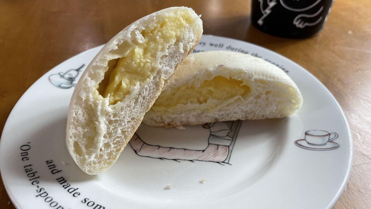 お取り寄せグルメ クリームパン カスタードクリーム