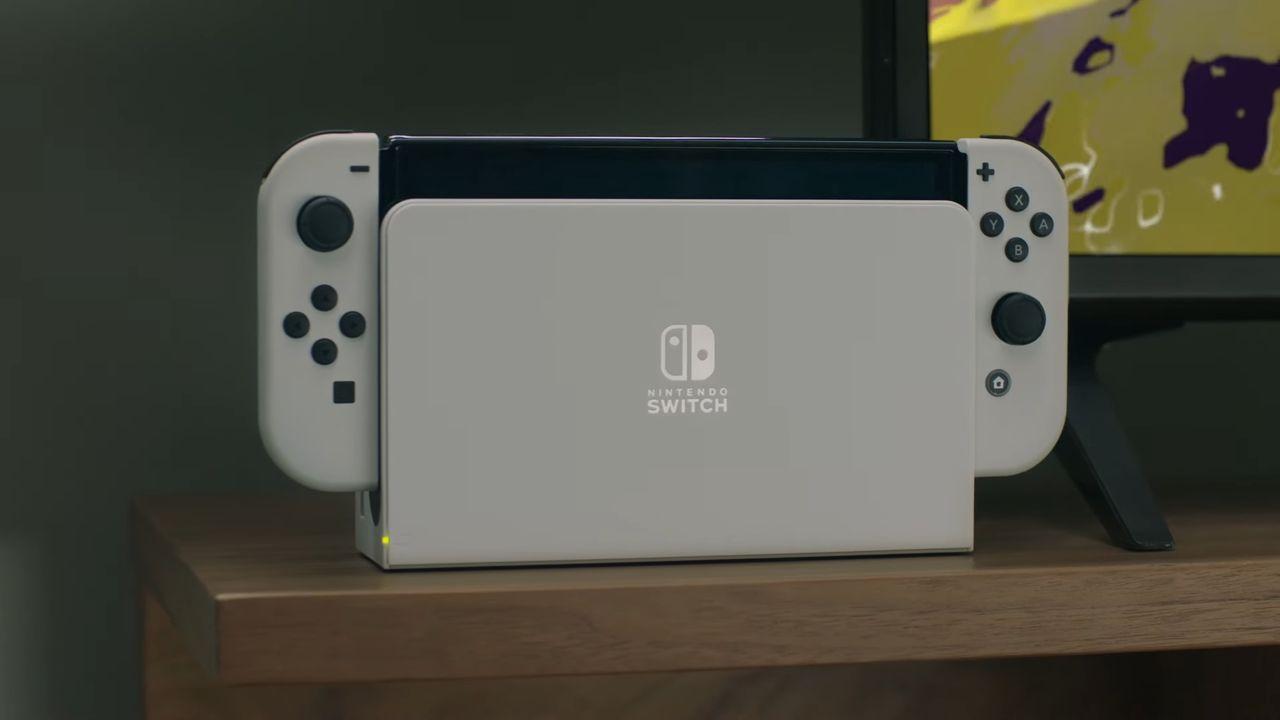新型任天堂スイッチ Nintendo Switch(有機EL)