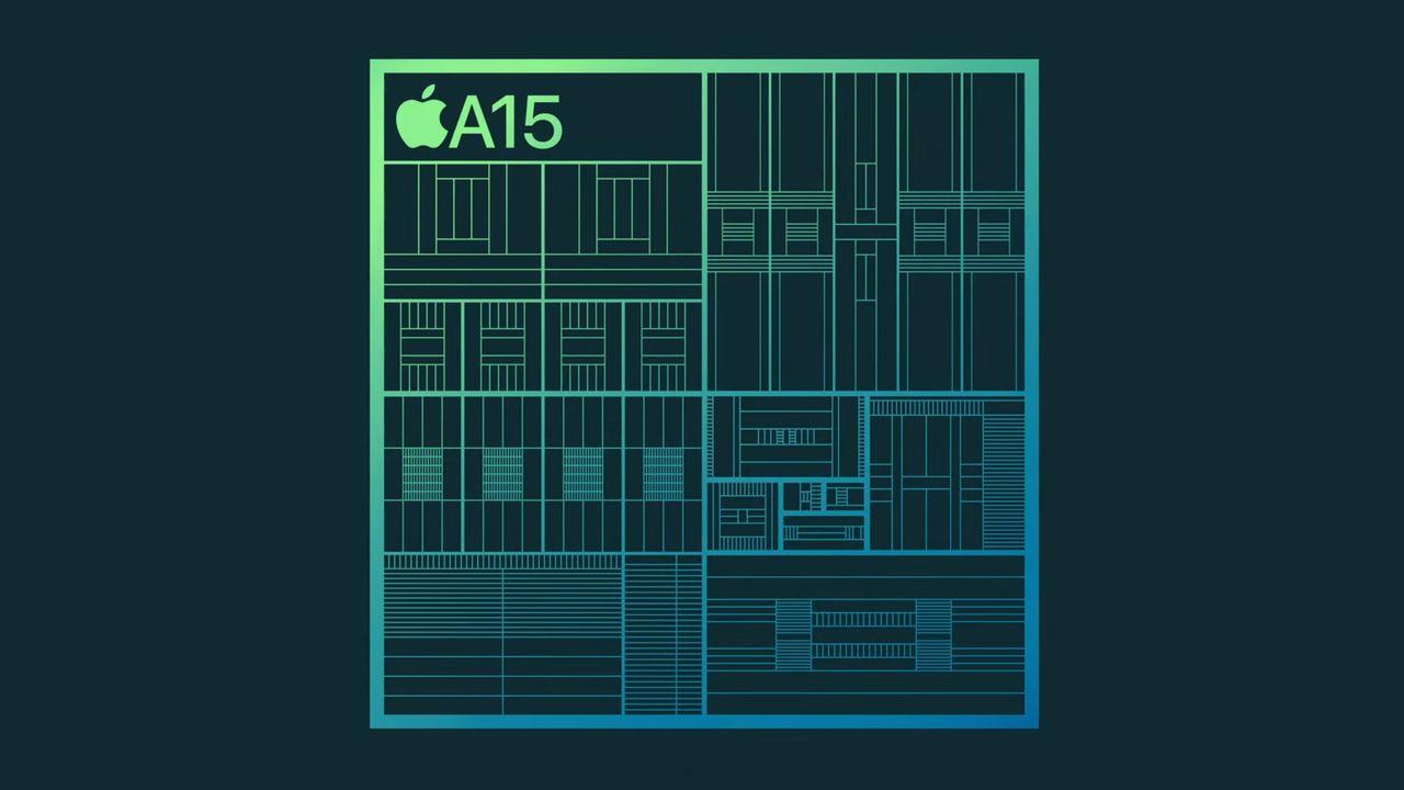 Apple A15 Bionicチップ