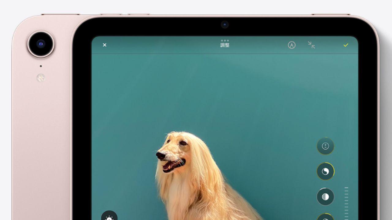 新型iPad mini カメラ性能