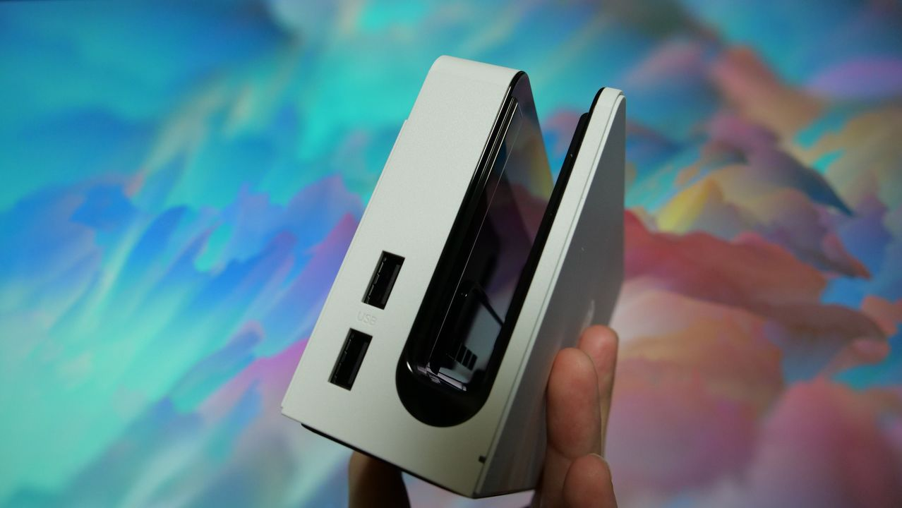 任天堂スイッチ(有機ELモデル) USB端子 ドック